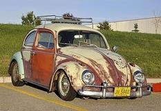 Ржавчина снова в моде: Volkswagen Beetle Rat Look