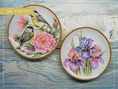 Decorative plates: 9 ways of registration