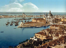 Color photographs of Venice of the 1890s