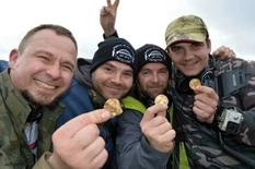 At the festival for treasure hunters, search engines found 557 ancient coins