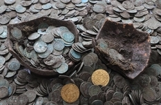 And a little more about the treasure dug up by the boars in Slovenia