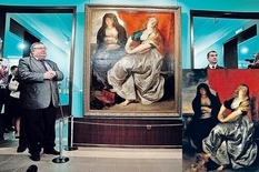 How was the picture of Rubens in the Ural Museum?