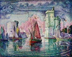 "France, return the stolen painting ""Port La Rochelle"", discovered in Ukraine"