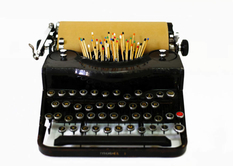 Candles, matches, nails: the unfamiliar keys of old typewriters