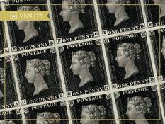 Почему почтовая марка «Черный пенни» считается редкостью?