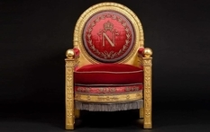 The throne of the emperor of France was sold for a record price