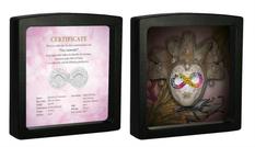 Монетный двор Польши презентовал монету в виде карнавальной маски