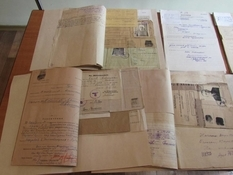 They showed archival documents about the crimes of the Third Reich in Poltava region