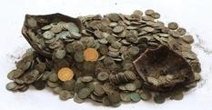 Клад, разрытый кабанами: супруги из Словакии нашли 1600 древних монет