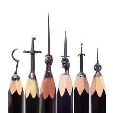 «Игры престолов» на грифеле карандаша