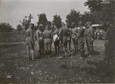 Украинский город на фотографиях 1917 года