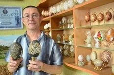 «Волинський Фаберже» і його дивовижна колекція декоративних яєць
