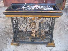 Оригінальний мангал зі старої швейної машини