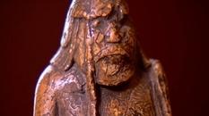 Шахматная фигура с острова Льюис, которая «обладает огромным характером и силой»