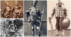 В прошлом — страшно, в настоящем — забавно: подборка исторических фотографий боевого облачения воинов