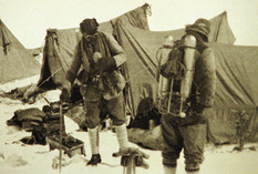 From the history of the conquest of Everest