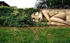 Вуличні картини, які об'єднують природу і мистецтво