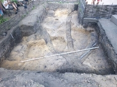 Near Kiev excavated the ancient home of the potter