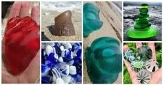 Дивовижні здатності моря, або що вода робить зі шматочками скла?