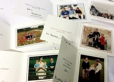 6 Christmas cards with royal congratulations 26 years lay untouched