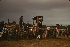 Родео, збір врожаю і танці - «одомашнення» Дикого Заходу на фотографіях 1930-1940-х років