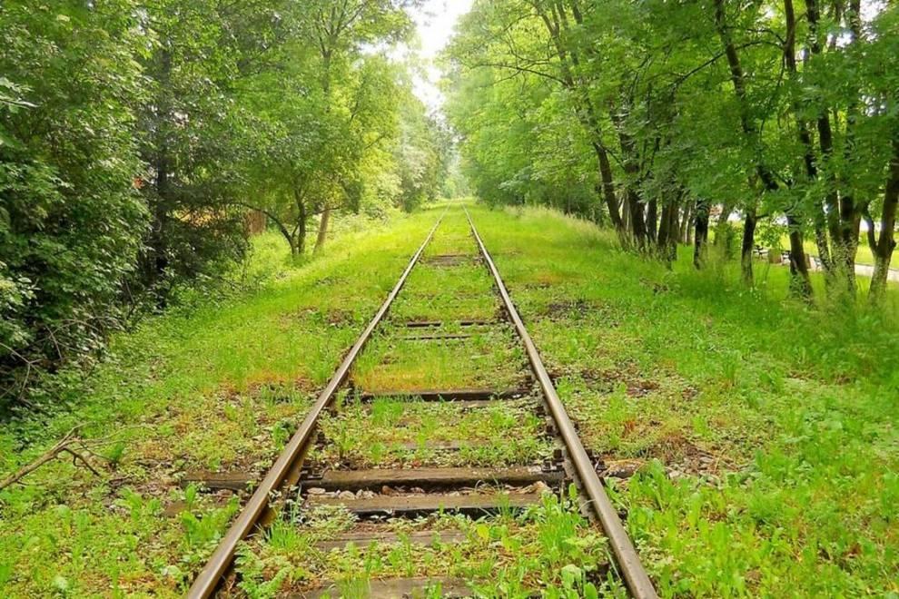 Ведем поиск вдоль железных дорог