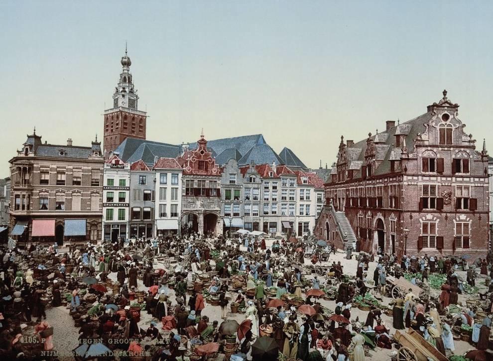 Цветная Голландия: яркая фотогалерея 1890-х годов