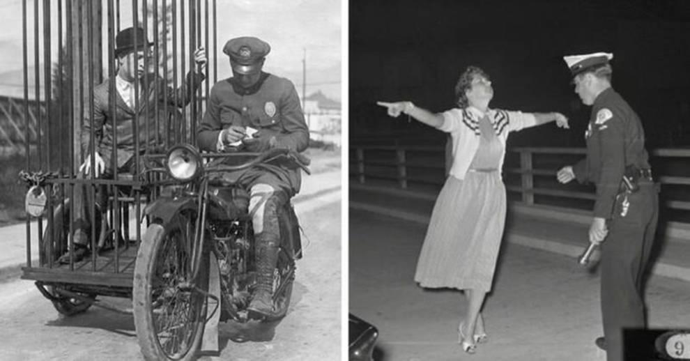 Редкие фотографии из полицейского архива США начала XX века