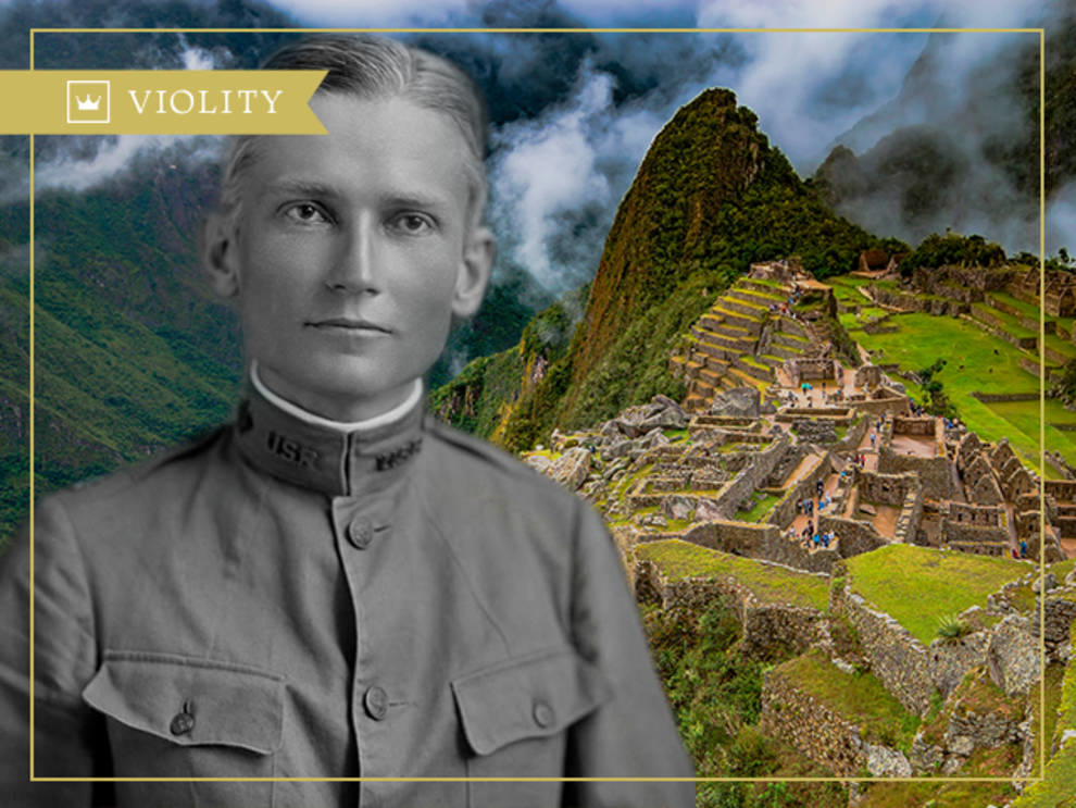 Hyrum Bingham and the lost city of Machu Picchu