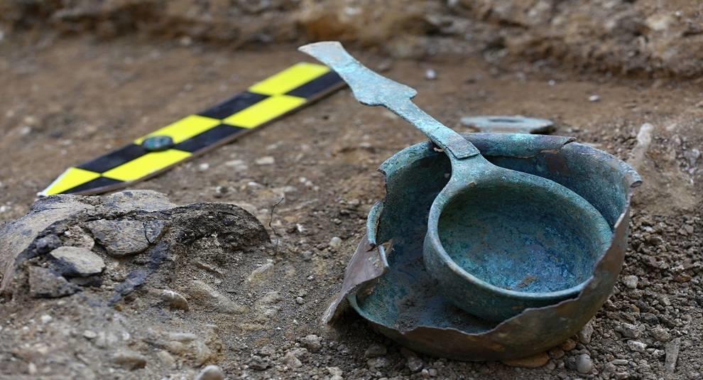 В Чехии раскопали древнюю могилу времен Римской империи