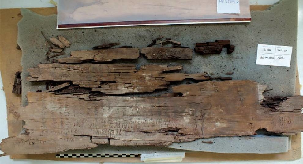 В египетском саркофаге найдена часть карты загробного мира