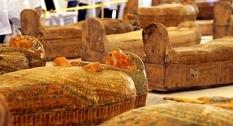В Египте изучают 30 найденных саркофагов