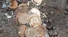 В Курске нашли клад золотых монет