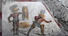В Помпеях обнаружена впечатляющая фреска