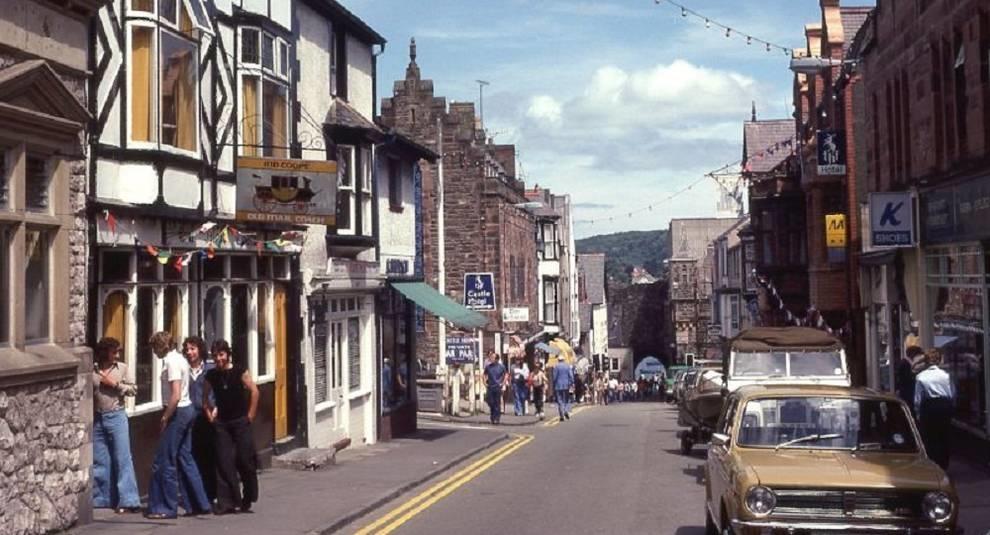 Как выглядела жизнь в Уэльсе в 70-х годах