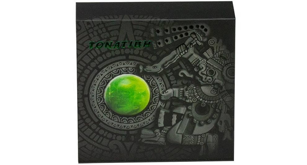 В Ниуэ выпущена монета с изображением бога солнца на реверсе