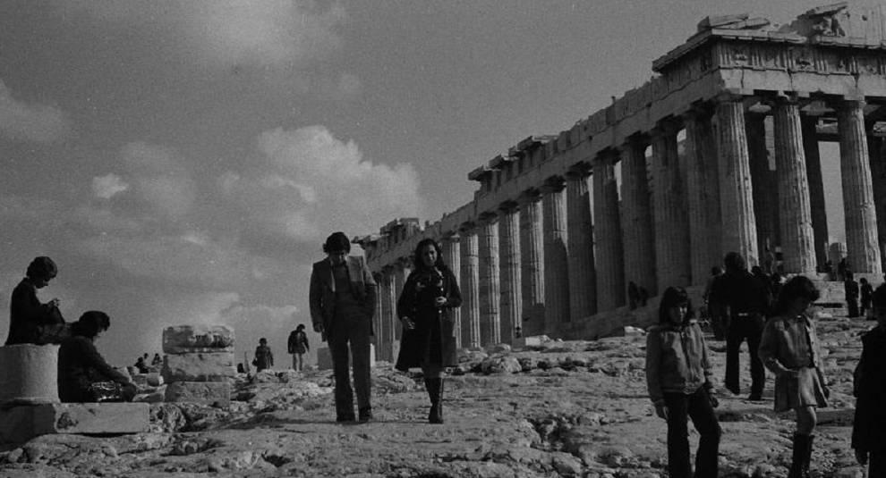 Жизнь Афин в 70-х годах на фото Эдди Гирднера