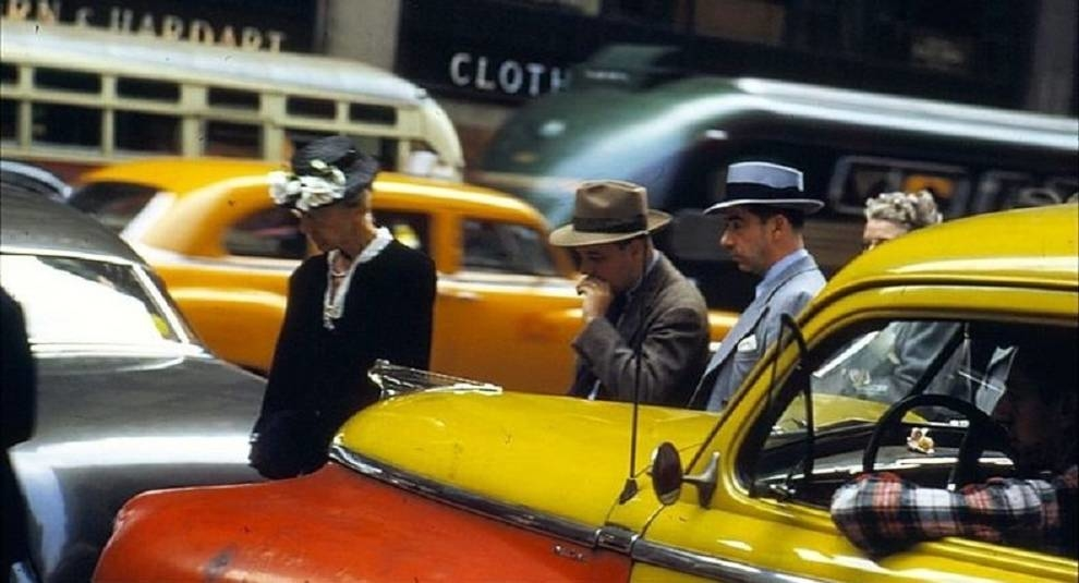 New York of the 50s in the lens of Ernst Haas