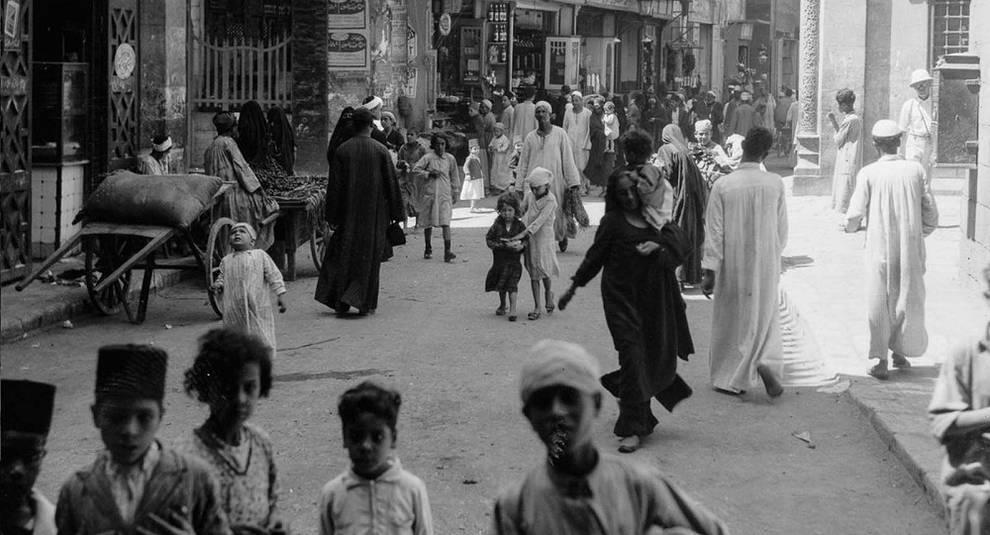 Каир в первые десятилетия XX века
