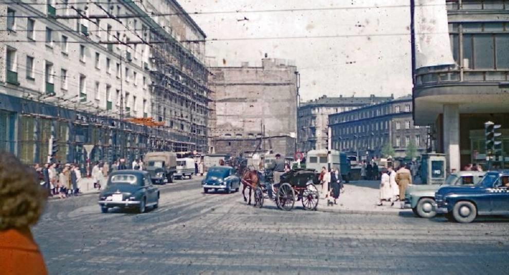 Каким был облик Варшавы в 1950-х годах