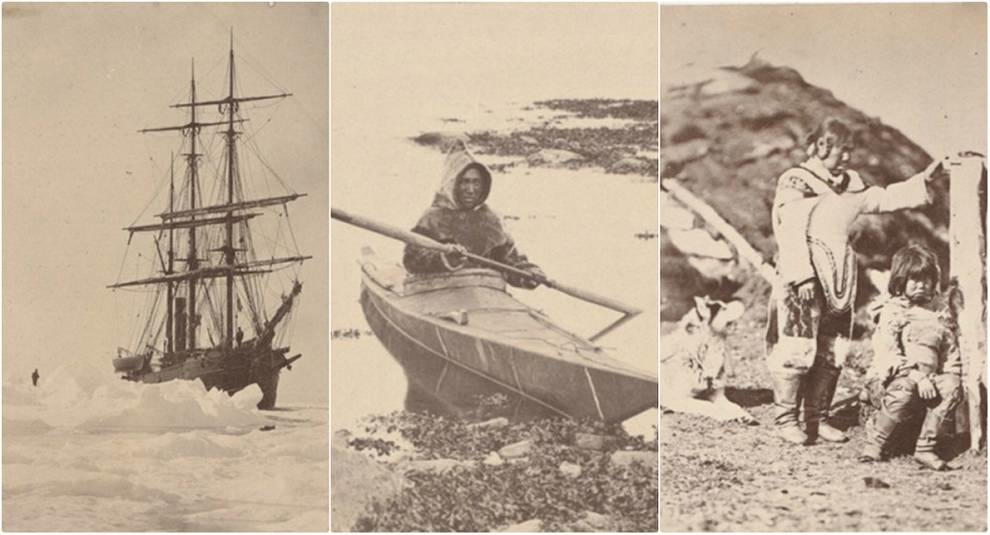 Фото Гренландии, сделанные во время путешествия Уильяма Брэдфорда