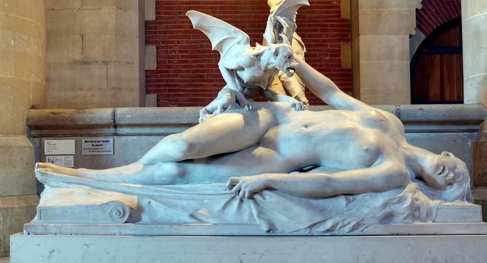Эжен Тивье: автор «Кошмара» и памятника Альфреду Сислею
