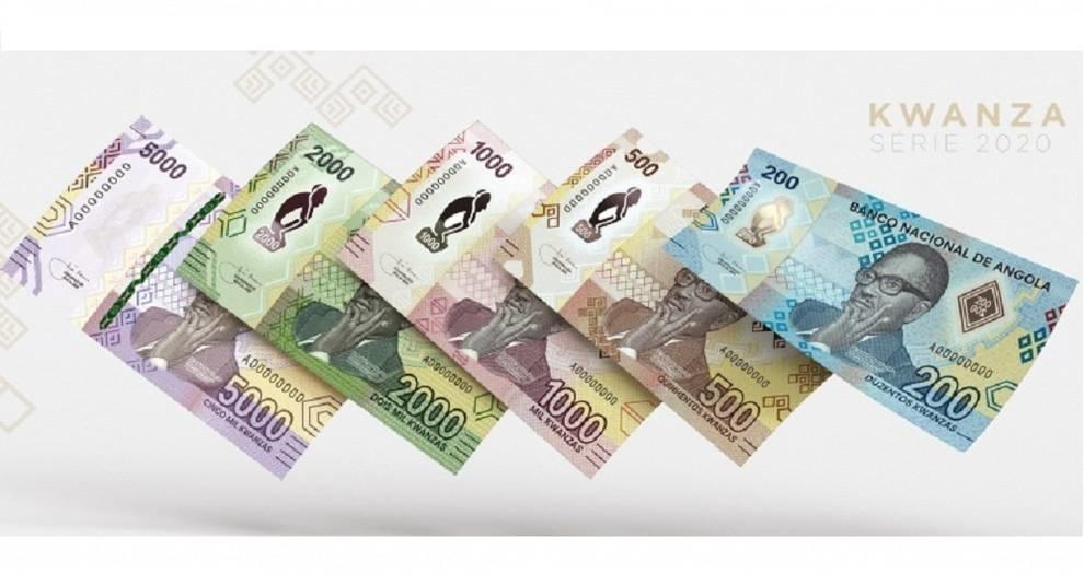 В течение года Ангола выпустит несколько новых банкнот
