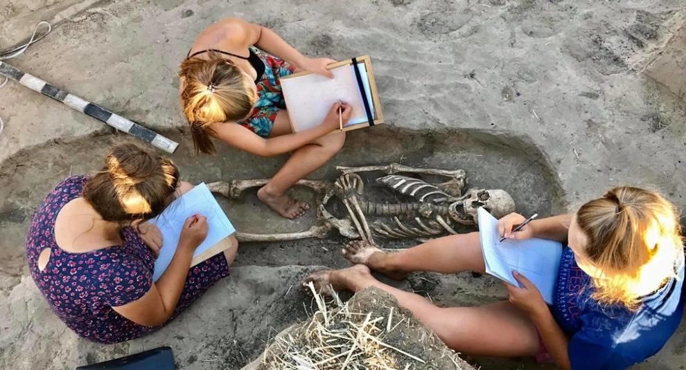 На Мамай-Горе обнаружены новые могильники