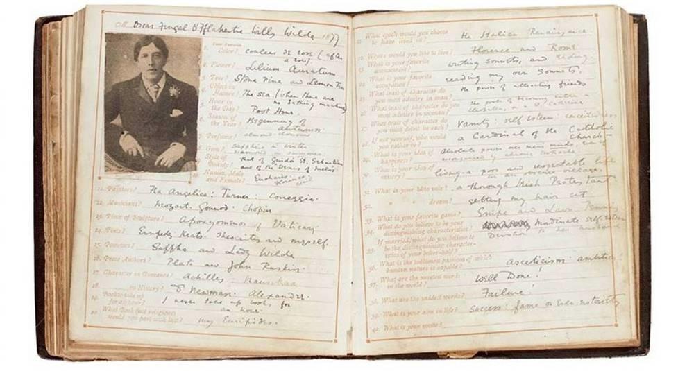 На Sotheby's продадут записи Оскара Уайльда