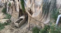 В одном из районов Измира найден древнеримский саркофаг