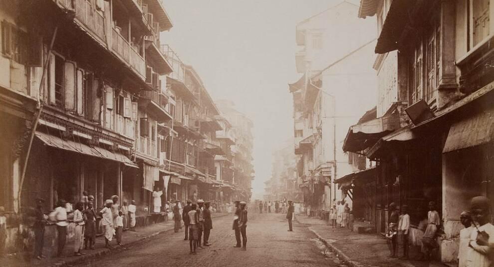 Архитектура и достопримечательности Индии на фото XIX века