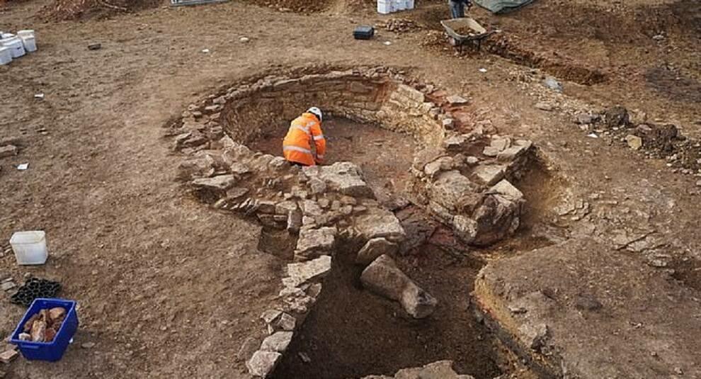 Британские археологи нашли древнеримский промышленный комплекс