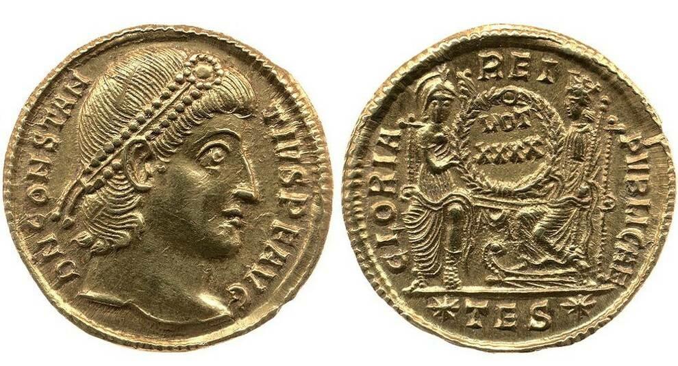 Золотые монеты Эдварда Вигана