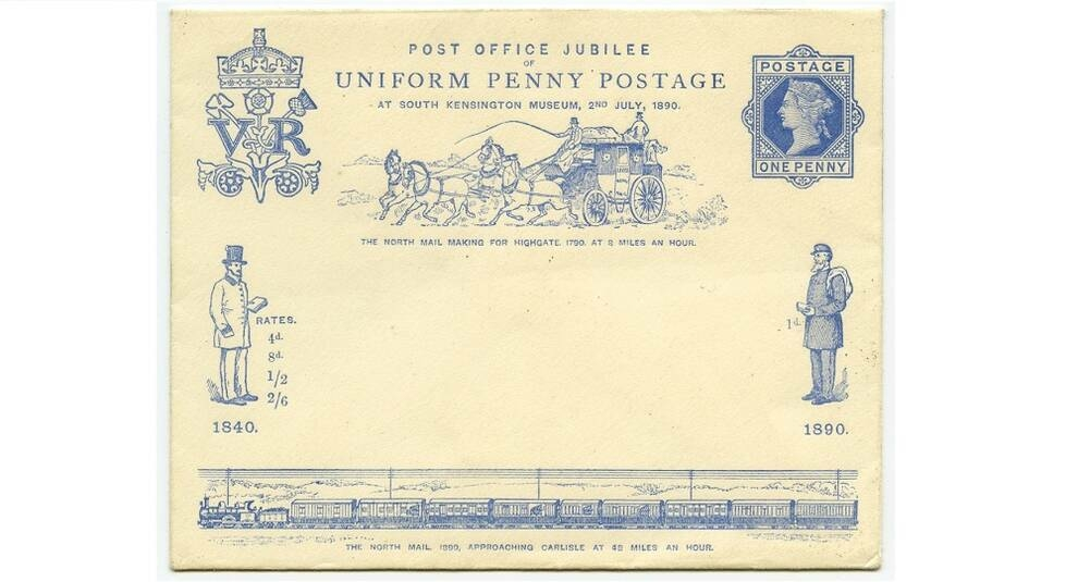 UK post: a collection of Victorian envelopes